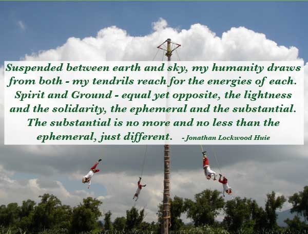 suspended between earth and sky by jonathan lockwood huie