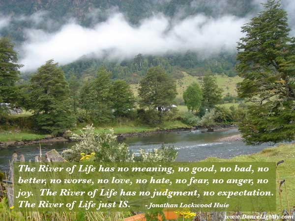 The River of Life has no meaning, by Jonathan Lockwood Huie